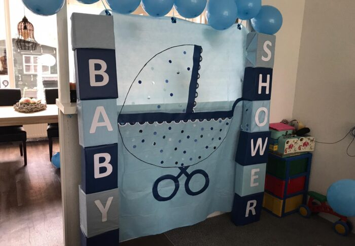 De dag van mijn babyshower, was ook de dag dat we in de eerste lockdown gingen